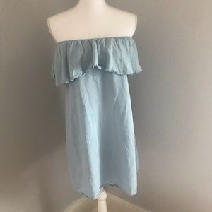 Charlie Paige Off Shoulder Dress Size S/M